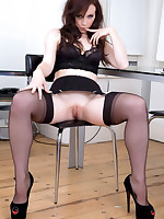 Amazing Astrid  & Astrid's Angels | Free Stocking Pics | Horny MILF With Big Boobs In Stockings And High Heels