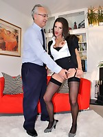Jim Slip UK Porn video: Sexy CEO